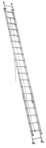 Werner D1540-2 40 ft Type IA Aluminum D-Rung Extension Ladder