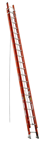 Werner D6240-2 40 ft Type IA Fiberglass D-Rung Extension Ladder