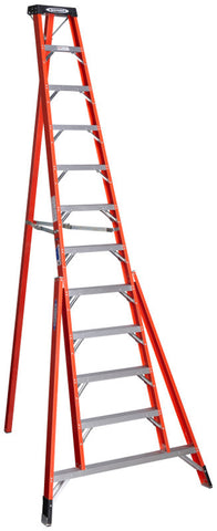 Werner FTP6212 12 ft Type IA Fiberglass Tripod Ladder