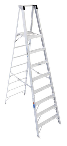 Werner P378 8 ft Type IA Aluminum Platform Ladder