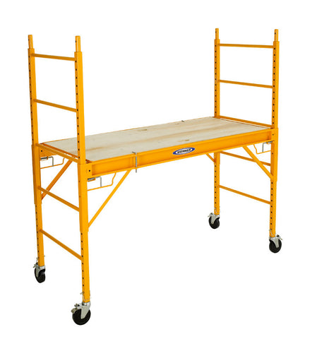 Werner SRS-72 6 ft Steel Rolling Scaffold