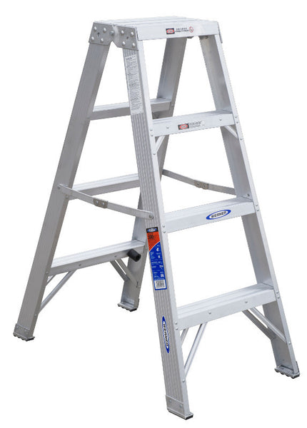 Werner T370 Series Type IA Aluminum Twin Ladders (4', 6', 8', 10')