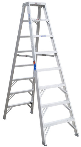 Werner T378 8 ft Type IA Aluminum Twin Ladder