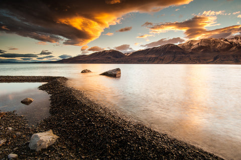 Lake pukaki sunset by Todd Sisson