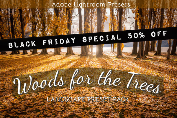Lightroom presets 50% off sale