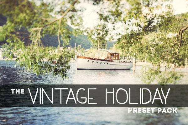 Vintage Holiday: Lightroom Preset Pack
