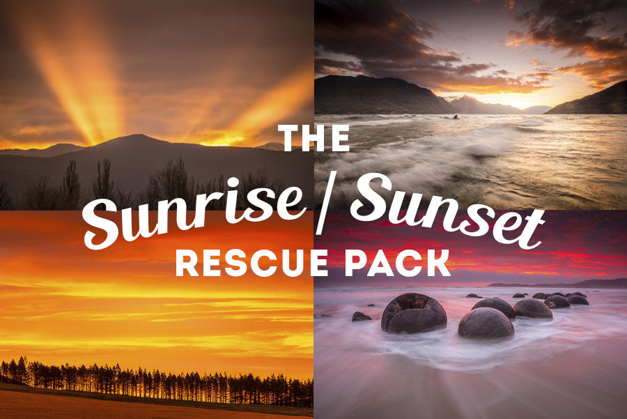 Sunset, Sunrise Rescue:  Lightroom Preset Pack