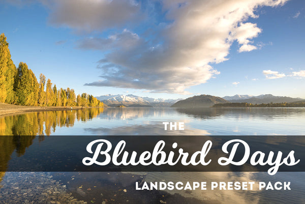 Bluebird Days:  Lightroom Preset Pack