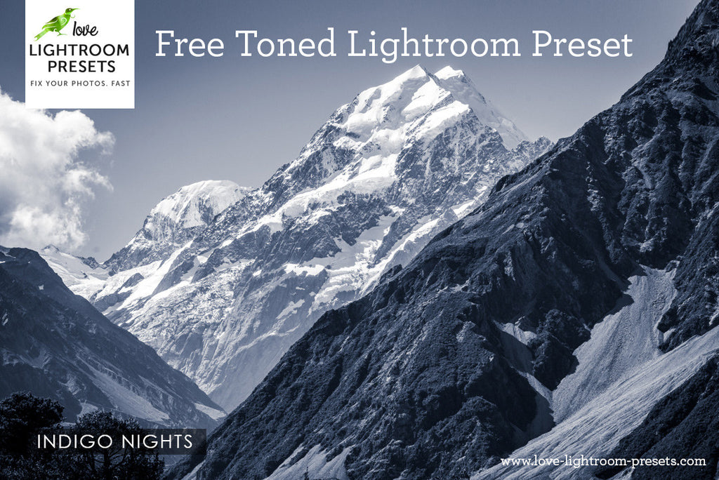 Free Lightroom Preset | Indigo Nights