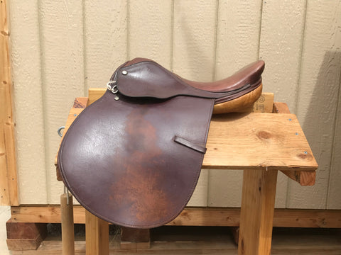 "Used Regency Jump Saddle 15.5"" Medium"