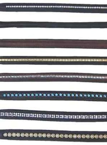 Thornhill Gold Square Browband 5/8""
