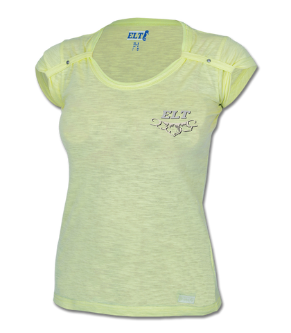 ELT Lorina T-Shirt Lime Medium