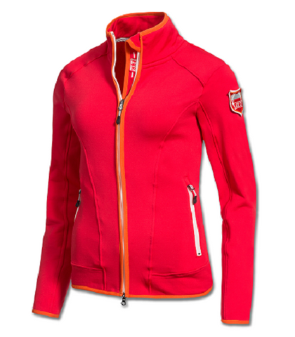 ELT Amara Fleece Jacket Poppy Red