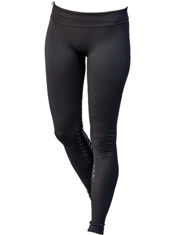 Goode Rider Designer Seamless Knee Patch Tights