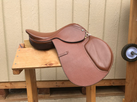 "Used Regency Jump Saddle 16.5"" Narrow"