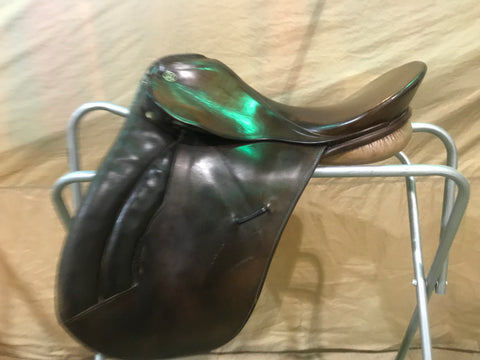 Used Kieffer Munchin 17.5 Medium All Purpose Saddle