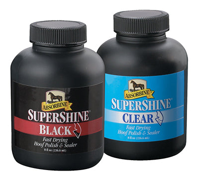 Absorbine Supershine Fast Drying Hoof Polish 8 oz