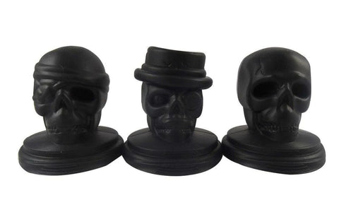 Dope Molds Silicone Ice Mold - 3-Set Skull with Stand