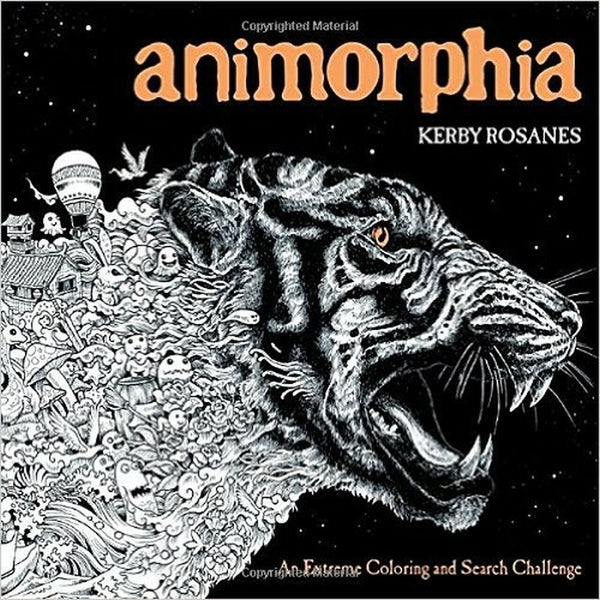 Animorphia - An Extreme Coloring and Search Challange by Kerby Rosane