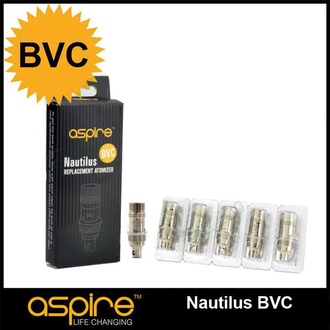 Aspire Nautilus/Mini BVC OCC  **5 Pack**