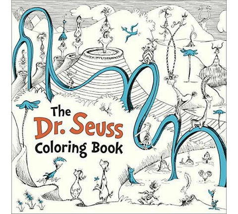 Dr. Seuss Coloring Book