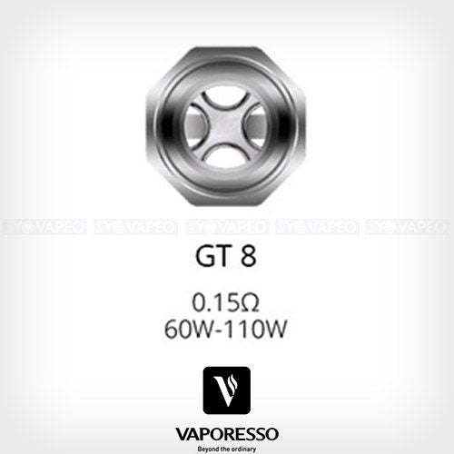 NRG Replacement Coils Vaporesso GT2, GT4, GT8, and Glass  *Sale*