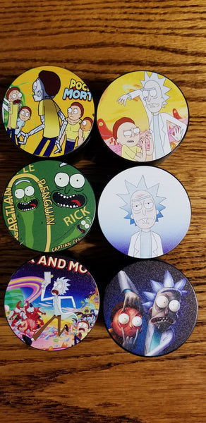 Rick and Morty Herb Grinder HB07 19+