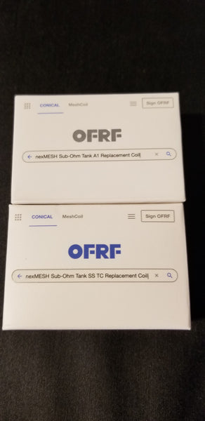 OFRF NEXMESH SUB-OHM REPLACEMENT COIL(2 PACK)