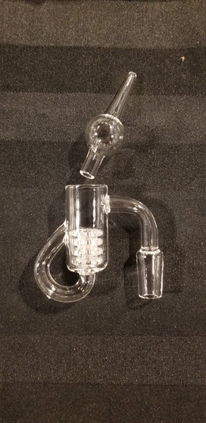 Recycler Quartz Banger Kit 19+