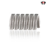 Staggered Fused Clapton 0.33ohms by Saddlehorse Blues Custom Coils