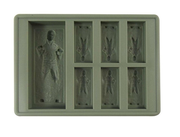 Dope Molds Silicone Gummy Mold - 7 Cavity Grey Han Solo Frozen in Carbonite