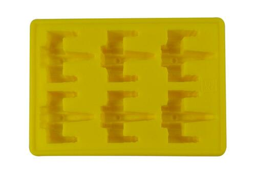 Dope Molds Silicone Gummy Mold - 6 Cavity Yellow X-Wing