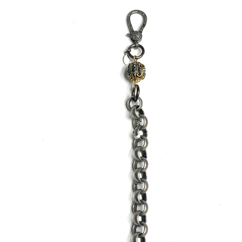 Chain Pave Diamond Bracelet