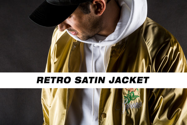Retro Satin Jacket