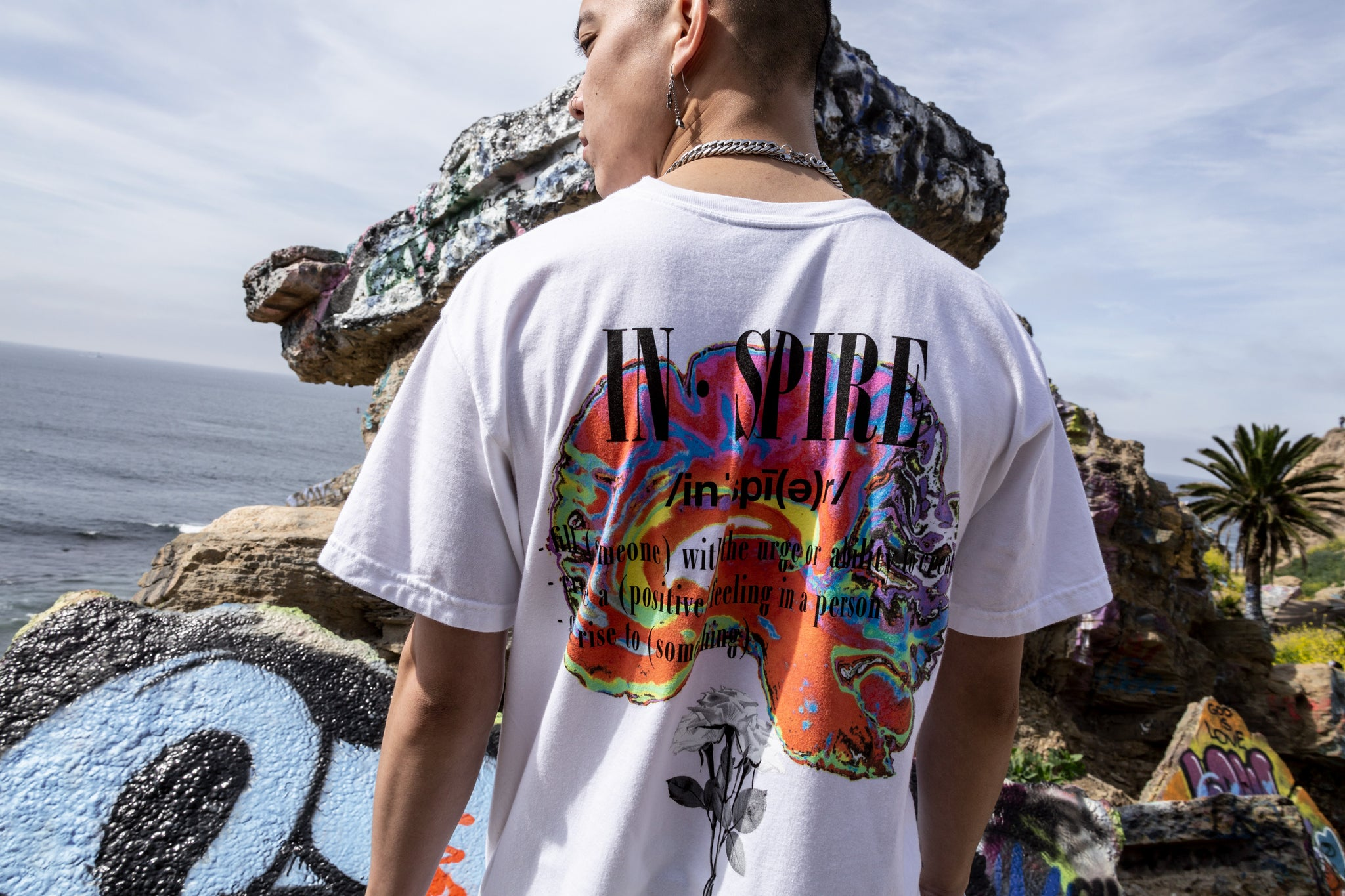 Sworn Euphoria Tee White Back
