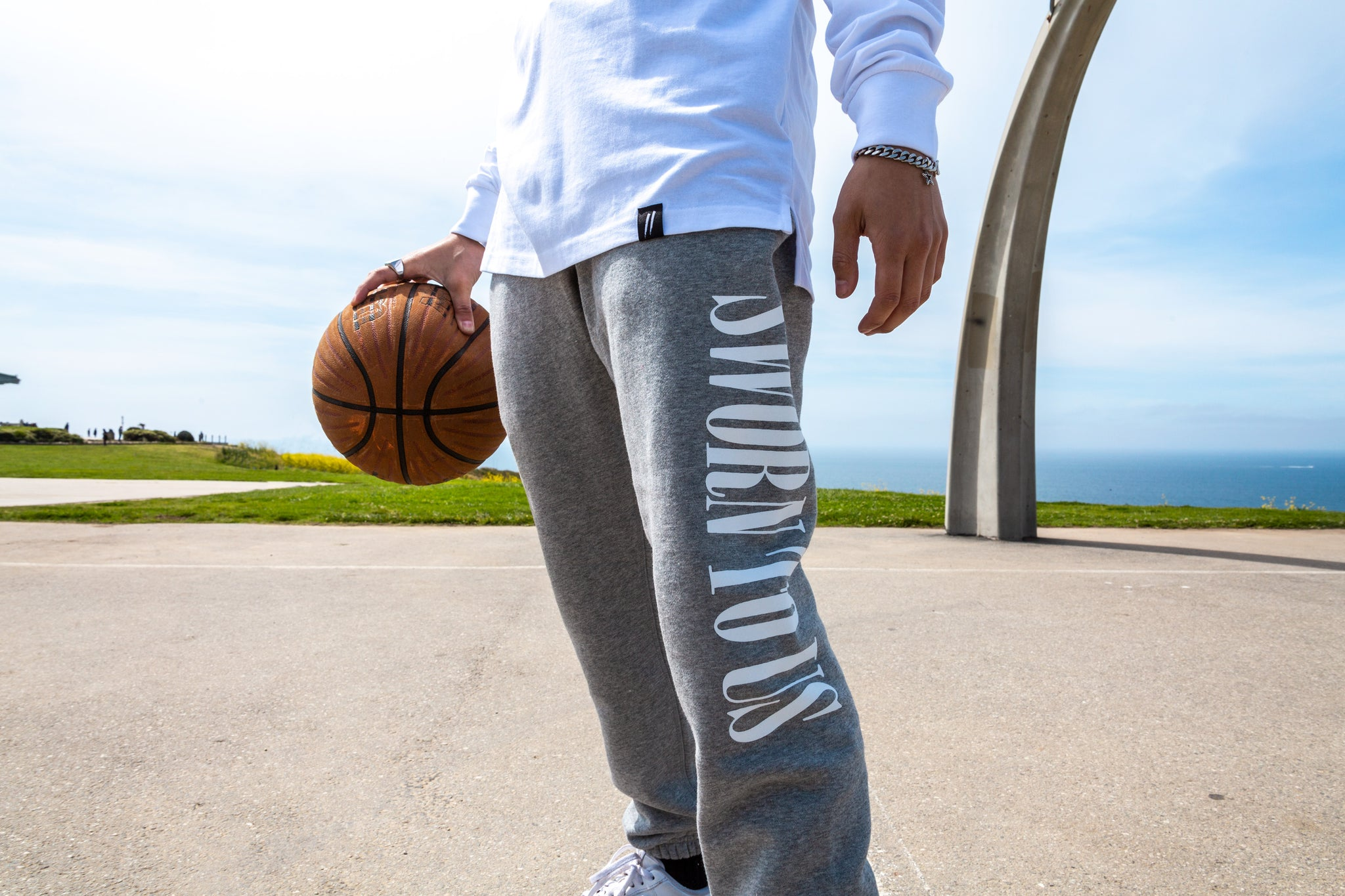 Sworn To Us Sweatpants - Heather Grey