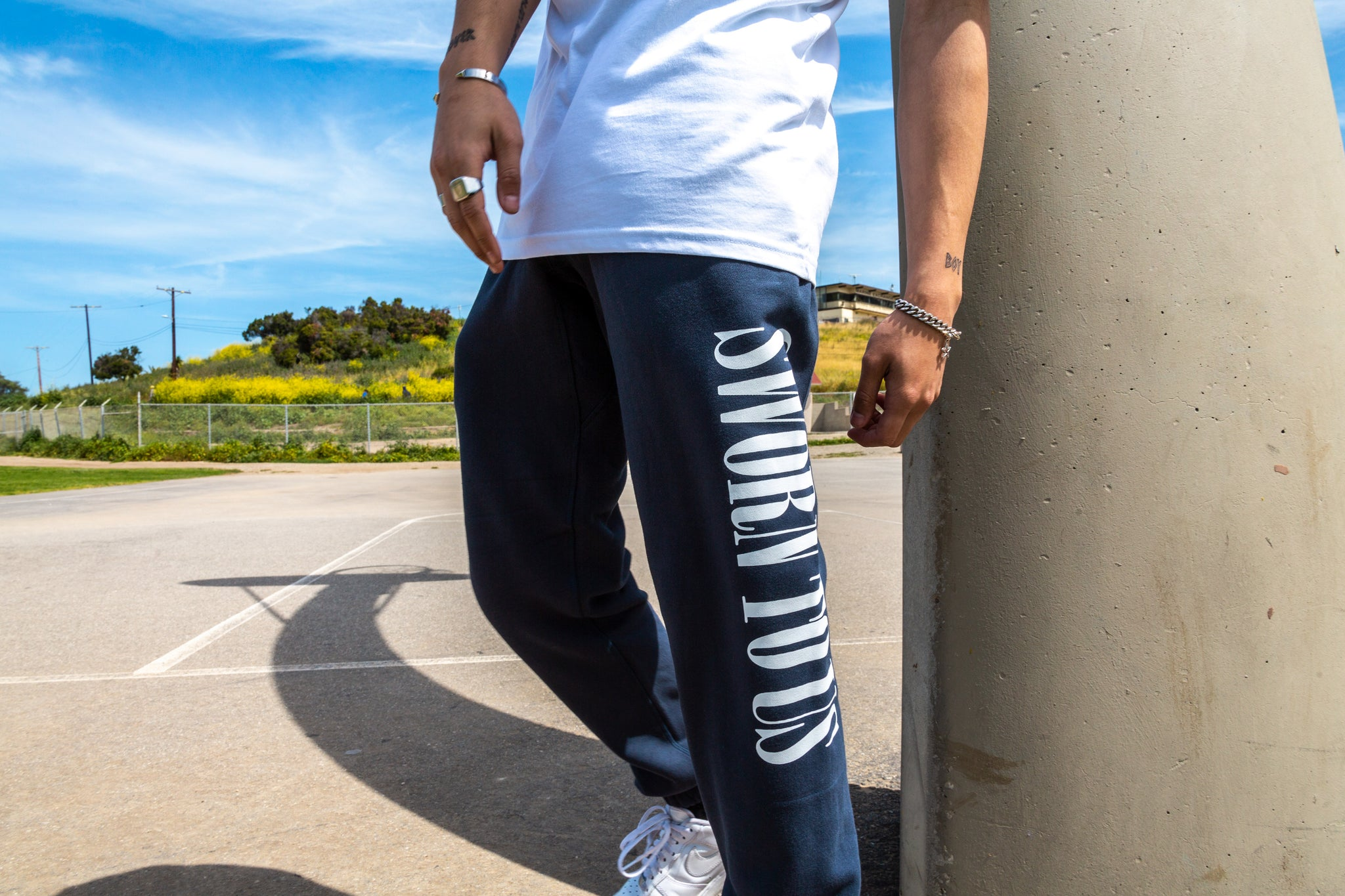 Sworn To Us Sweatpants - Midnight Blue