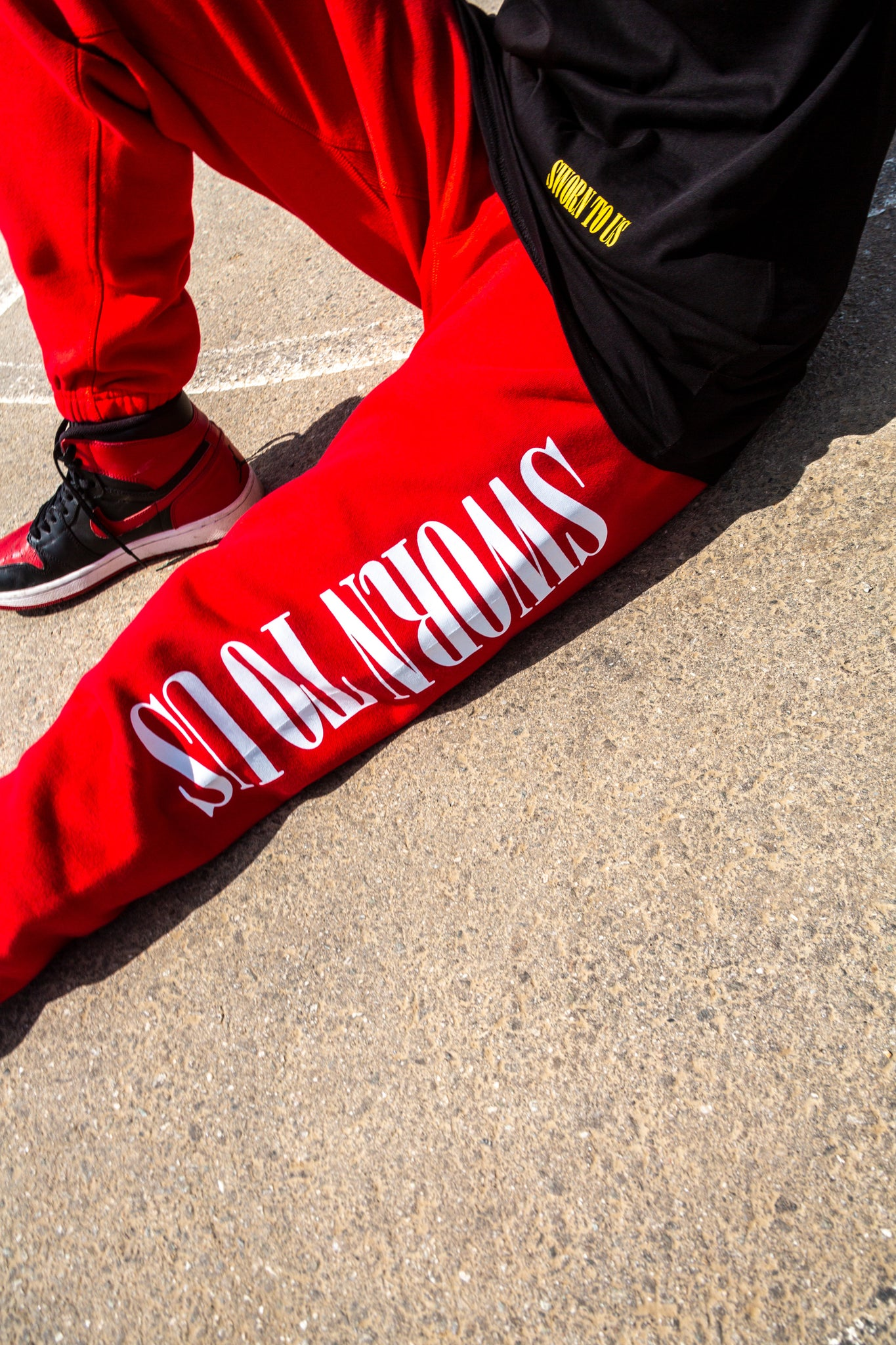 Sworn To Us Sweatpants - Red