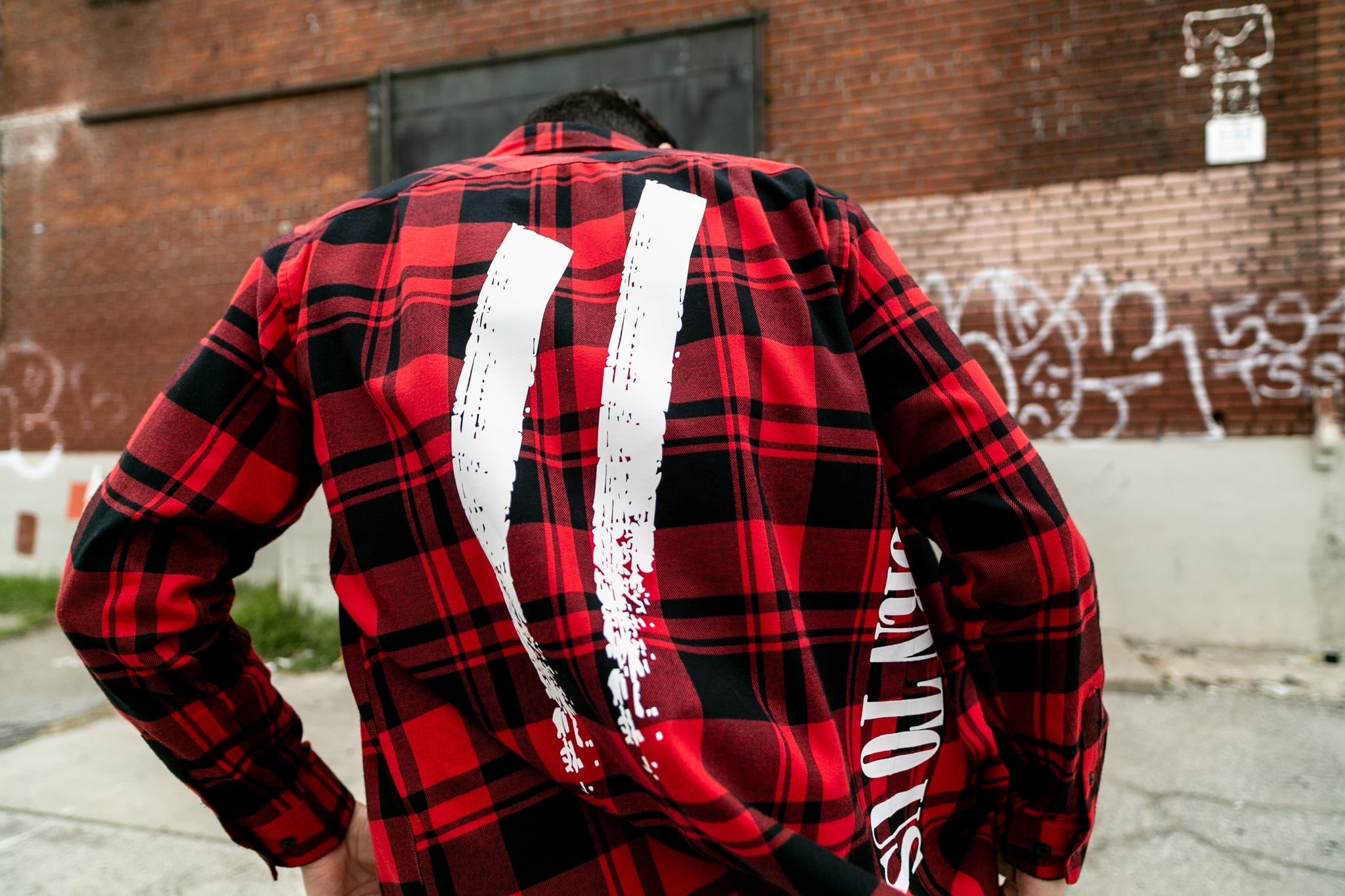 Another State of Mind Flannel Red Back Sworn To Us