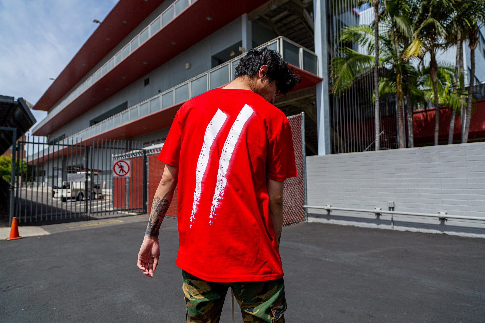 Sworn To Us - Motion Tee // RED