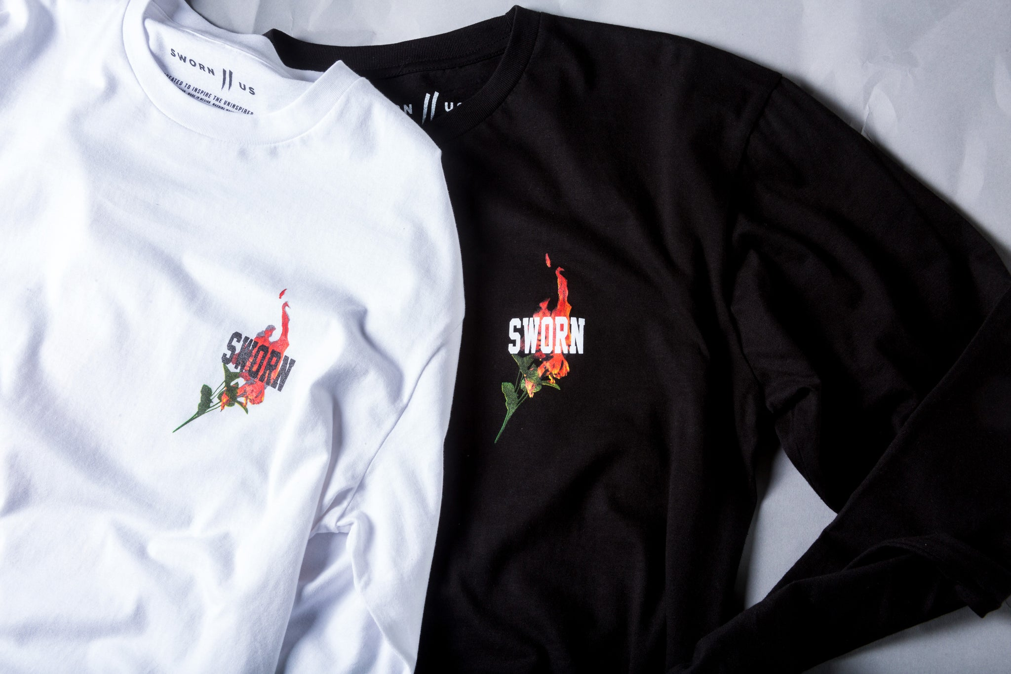 Sworn To Us // Fire Rose Tees