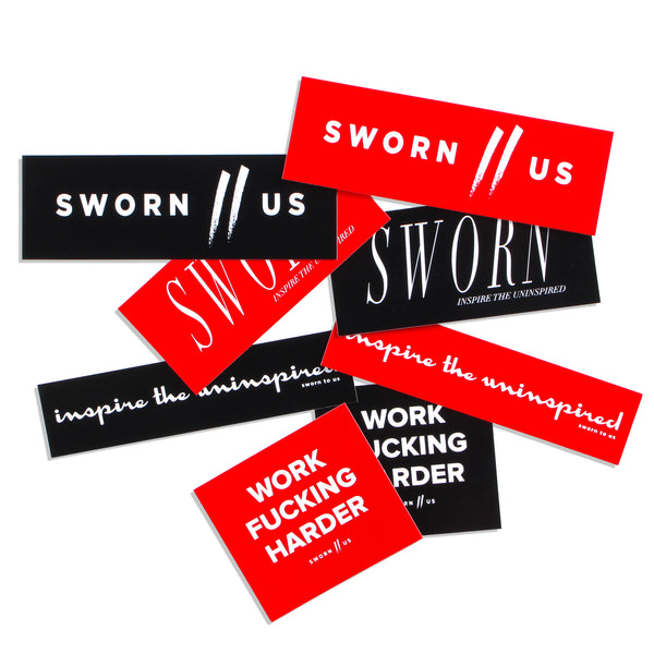 Sworn Sticker Pack (8-pack)