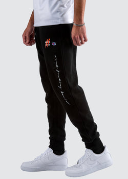 Sworn Oath Champion Reverse Weave Jogger // Black