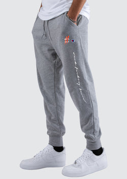 Sworn Oath Champion Reverse Weave Jogger // Heather Grey