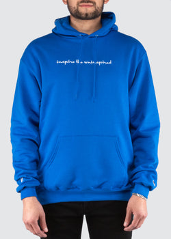 Sworn x Champion Hoodie // Royal Blue