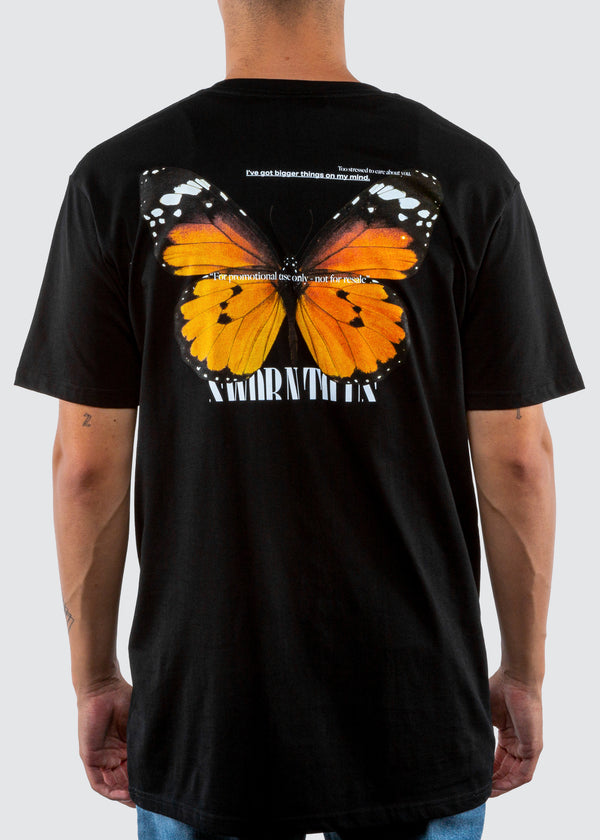 Monarch Tee // Black