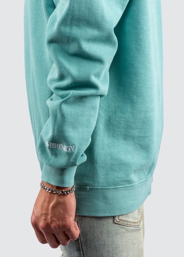 Passion Is Rare Crewneck Sweater // Seafoam