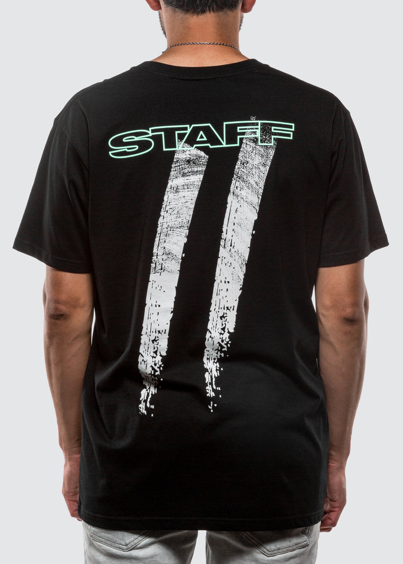 Eternally Grateful Staff Tee // Black