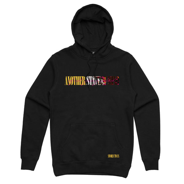 Another State of Mind Hoodie // Black
