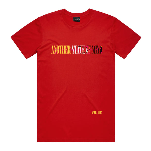 Another State of Mind Tee // Red